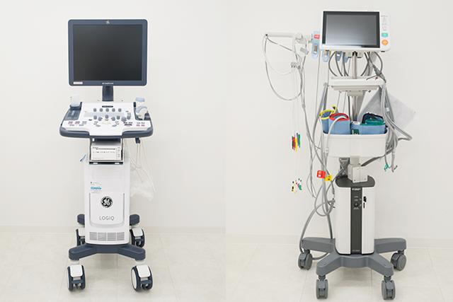 エコー診断装置/血圧脈波検査装置